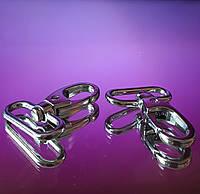 Карабин цвет серебро большой