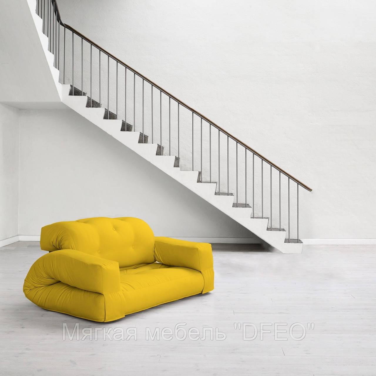 диван кроватьhippo желтый бескаркасный диван диван раскладной