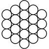 Канат сталевий одинарної звивки ТК 1х19(1+6+12) ГОСТ 3063