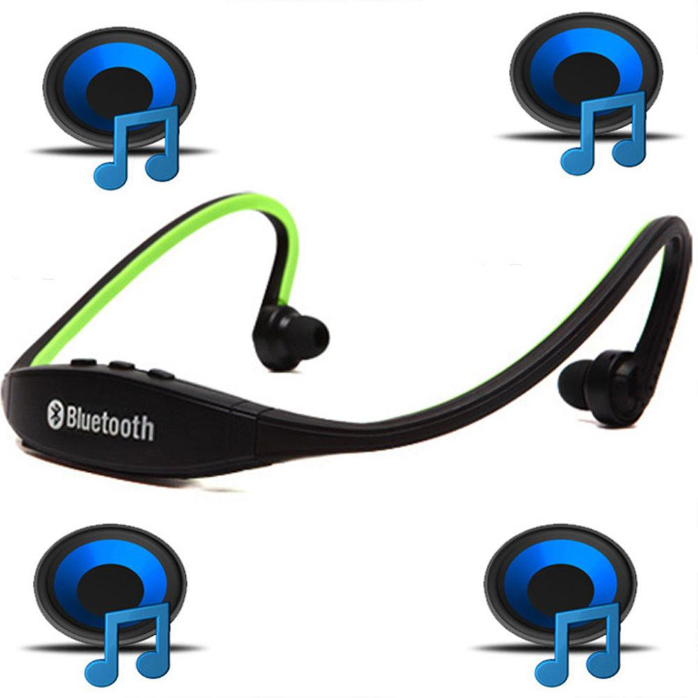 Беспроводные Bluetooth наушники для спорта, бега.microSD карта