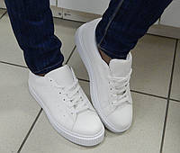 Кроссовки-Криперы женские, цвет: Белый