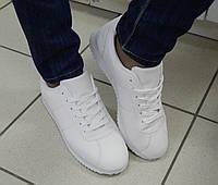 Женские Кроссовки Спорт, цвет: Белый