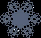 Канат стальной двойной свивки ЛК-0 6x19(1+9+9)+1o.c. ГОСТ 3077
