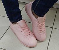 Женские Кроссовки Спорт, цвет: Розовый