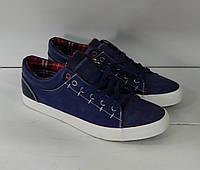Мужские Классические кеды , цвет: Синий, фабричный джинс