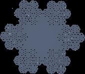 Канат стальной тройной свивки ЛК-Р 6х7х19(1+6+6/6)+1о.с. ГОСТ 3089-80