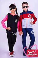 Детские костюмы спортивные для мальчиков и девочек