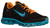 Кроссовки/Кеды (Оригинал) Nike Air Max 2011 Black/Vivid Orange/Gamma Blue/Dark Turquoise