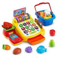 Детская касса с набором продуктов VTech Ring and Learn Cash Register