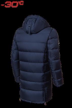 Мужская темно-синяя удлиненная зимняя куртка Braggart Dress Code (р. 46-56) арт. 2041, фото 2