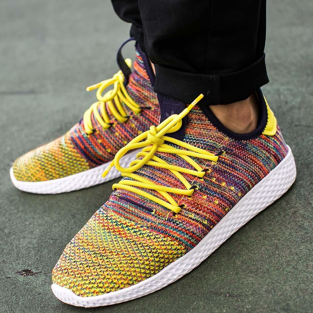 5c54def7bd2e50 Оригинальные мужские кроссовки Adidas x Pharrell Williams Tennis Hu  Primeknit