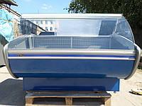 Витрина холодильная Технохолод 1,6 м. б/у, Холодильный прилавок б.у, фото 1