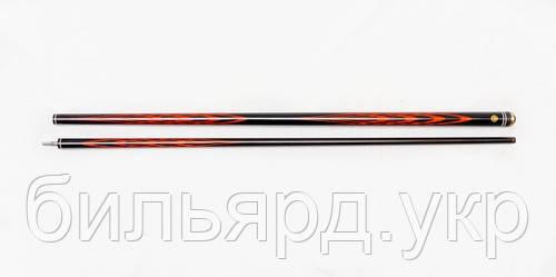 Бильярдный Кий Батченко Тюльпан черный граб-падук, черный шафт