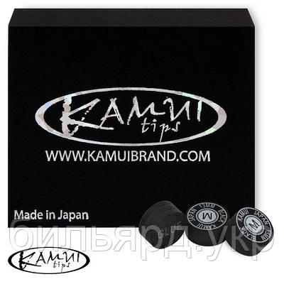 Наклейка для кия Kamui Black 13мм Medium 1шт.