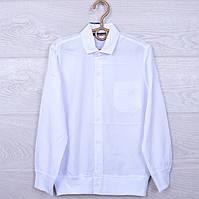 Школьная рубашка Blueland #8003 для мальчиков. 134-170 см. Белая. Школьная форма оптом