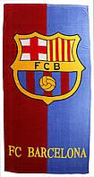 Пляжное полотенце FC Barcelona (велюр-махра) 70х140