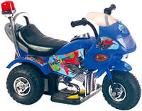 Эл-мобиль T-721 BLUE мотоцикл 6V4.5AH мотор 1*25W 72*36*50 ш.к.