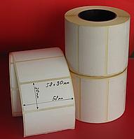 Термоэтикетка 58 x 30 мм ЭКО  700
