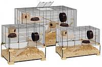 Ferplast KARAT Стеклянная клетка с поддоном для хомяков