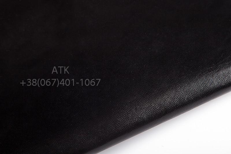 Кожа подкладочная шевро черная