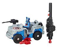 Боевая машина Hasbro Avengers Капитана Америки Первый мститель Противостояние (B5769-B6770)