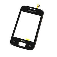 Сенсорный экран для мобильного телефона Samsung S6102 Galaxy Y Duos Black