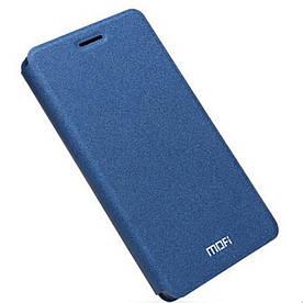 Чехол книжка для Huawei Honor V8 боковой, MOFI Rui Series, темно-синий