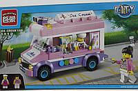 """Конструктор Brick """"Кафе-мороженое на колесах"""" 212 деталей"""