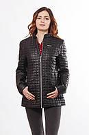 Куртка женская стеганная удлиненная большие размеры