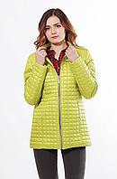 Стеганная курточка демисезонная больших размеров