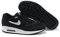 "Кроссовки Nike Air Max 1 87 ""Black/White"""