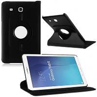 Кожаный чехол-книжка TTX (360 градусов) для Samsung Galaxy Tab E 9.6 SM-T560 (Черный )