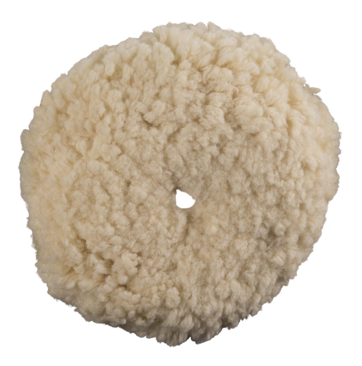 """Полировальный круг шерстяной - Meguiar's Rotary Wool Pad 8"""" 203 мм. белый (WRWC8)"""