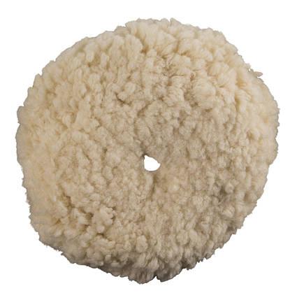 """Полировальный круг шерстяной - Meguiar's Rotary Wool Pad 8"""" 203 мм. белый (WRWC8), фото 2"""