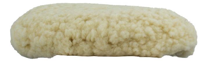 """Полировальный круг шерстяной - Meguiar's Rotary Wool Pad 8"""" 203 мм. белый (WRWC8), фото 3"""
