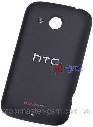 Задняя крышка HTC Desire C A320e черная, фото 2