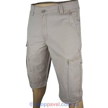 Мужские хлопковые шорты Differ E-2242  бежевом цвете