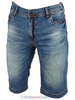 Джинсовые мужские шорты  X-Foot (большой размер)