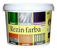 Краска резиновая белая, черная,зеленая,коричневая  Rezin-farba ISPOLIN   (1Л)