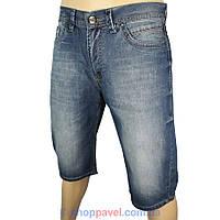 Мужские стильные джинсовые шорты Cen-cor СNC-1247  в синем цвете
