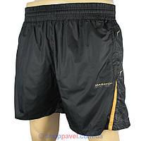 Мужские спортивные шорты Maraton M-282 в черном цвете