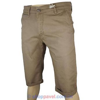 Стильные мужские шорты  X-Foot 150-4039 Hardal в песочном цвете