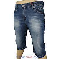 Джинсовые мужские шорты X-Foot 4037 синем цвете