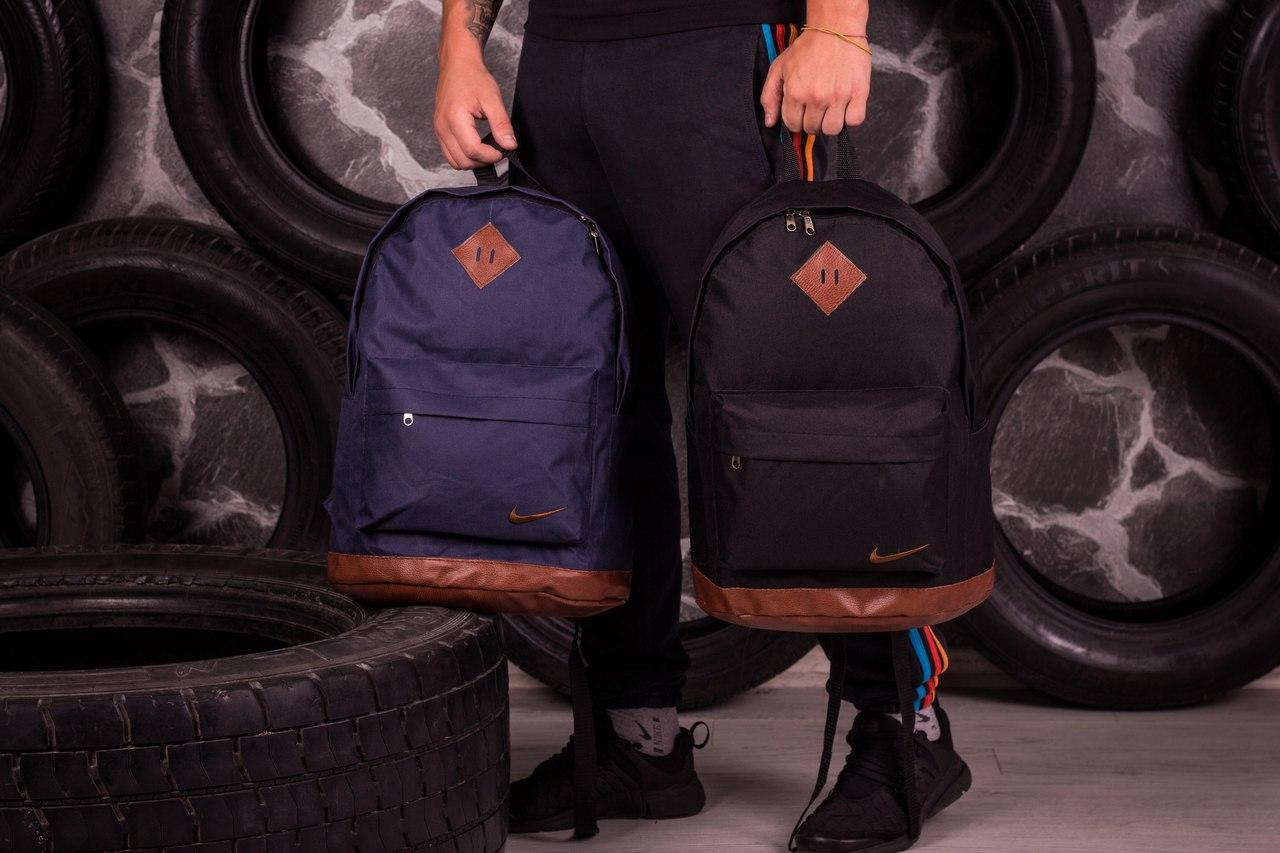 Рюкзак Nike чорный/коричневый