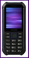 Телефон Nomi i245 X-Treme (BLACK-BLUE). Гарантия в Украине 1 год!