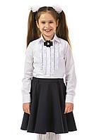 Рубашка для девочки с длинным рукавом
