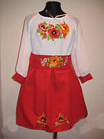 Платье-вишиванка
