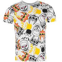 Мужская футболка с принтом WWE размер M (футболки мужские, чоловіча футболка, одежда мужская)