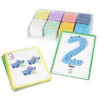 "Шариковый пластилин. Набор  PlayFoam ""Цифры"" от Educational Insights ОРИГИНАЛ США"