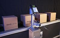 Крупносимвольный каплеструйный принтер